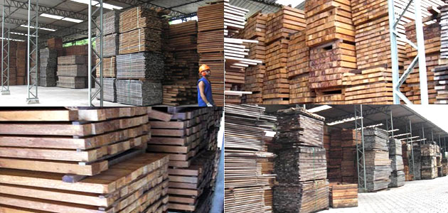 加工工場 原板置き場~業務用・ウッドデッキ材・ウッドフェンス材の通販なら、アマゾンジャラ専門店/イタウバ専門店 ハードウッドプロ