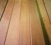 ウッドデッキ材料ハードウッドイタウバが激安~業務用,ウッドデッキ材・ウッドフェンス材 イタウバが安い