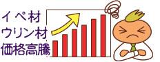 ハードウッド(アイアンウッド)イペ材とウリン材は価格が高騰傾向にあります~イペ材、業務用・ウッドデッキ材料・通販ならハードウッドプロ