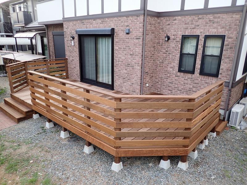 ウッドフェンスの作り方~ウッドフェンスDIY
